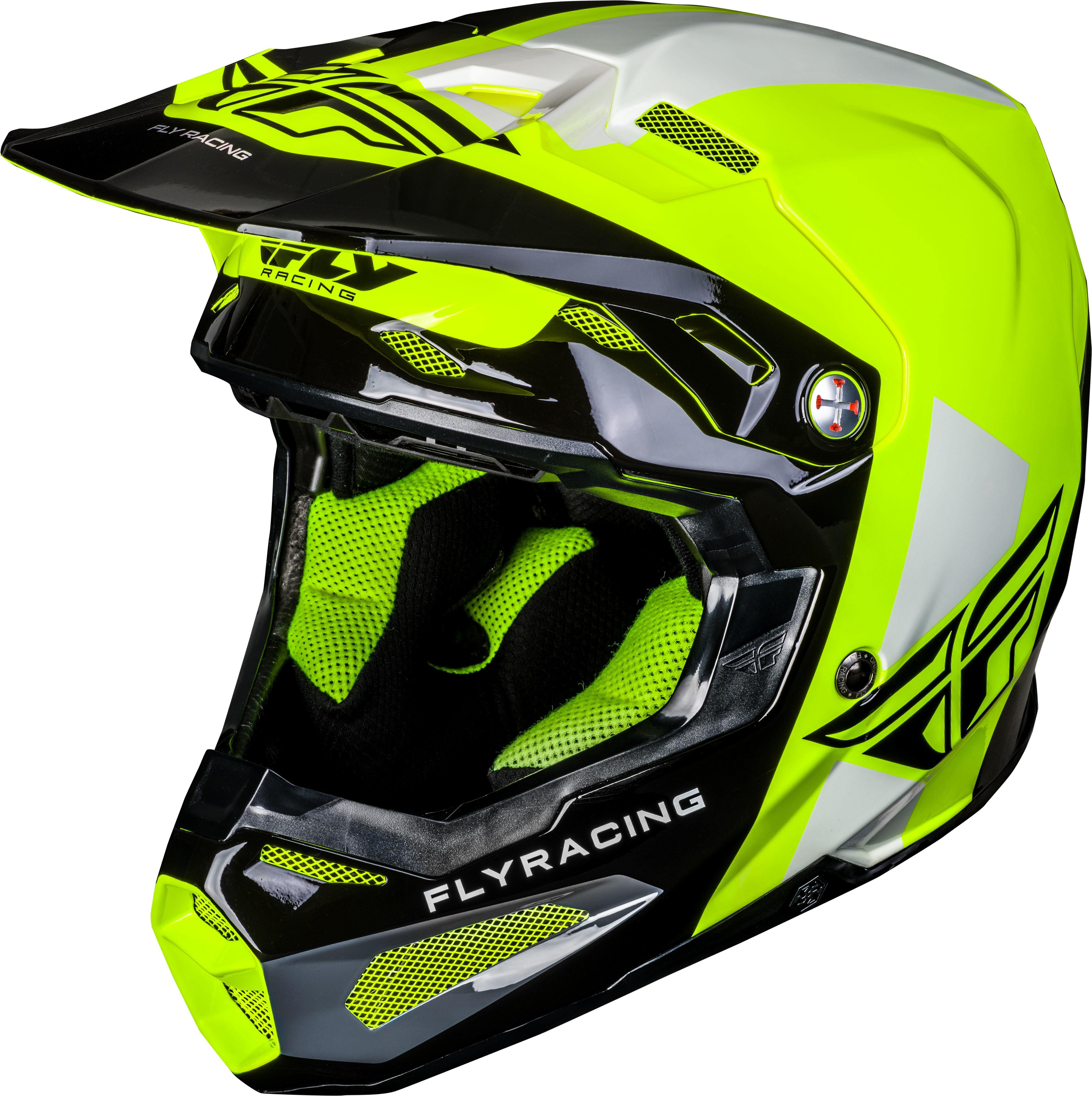 FORMULA ORIGIN Helmet Black Hi-Vis,  Md  73-4406M