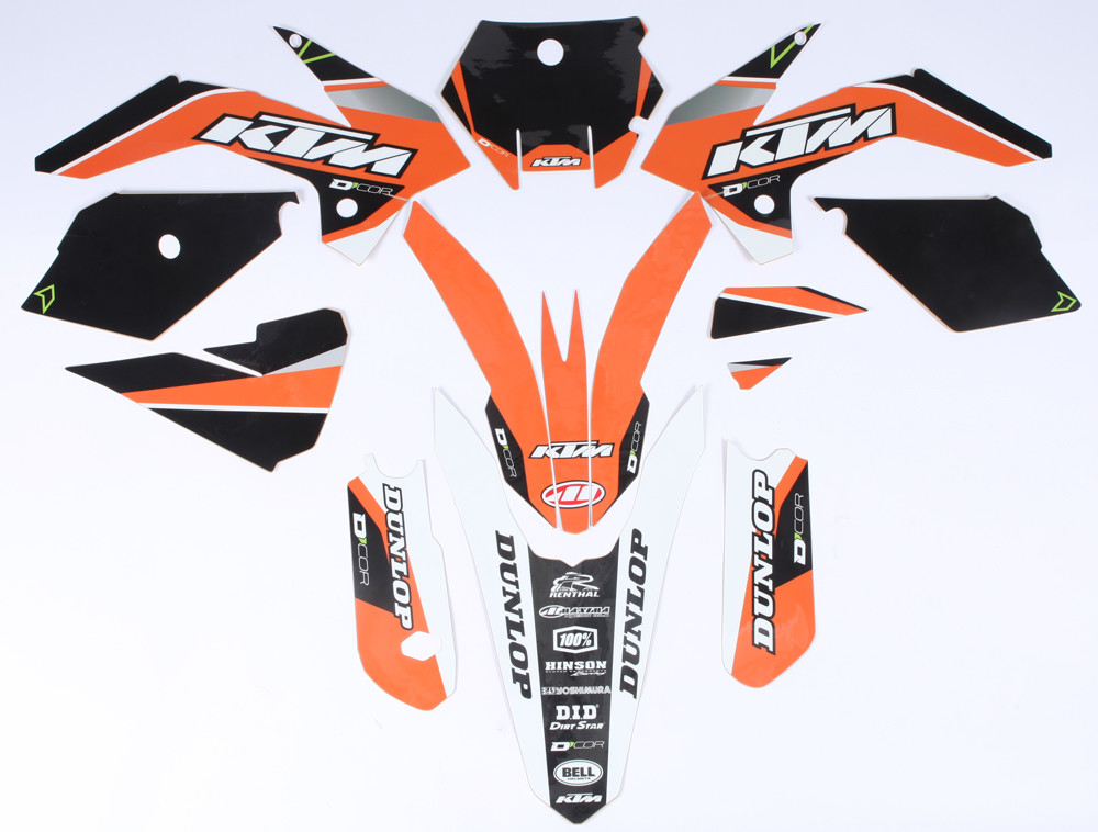 Ktm Raceline Graphics Graphics/Trim Kit 862-3203