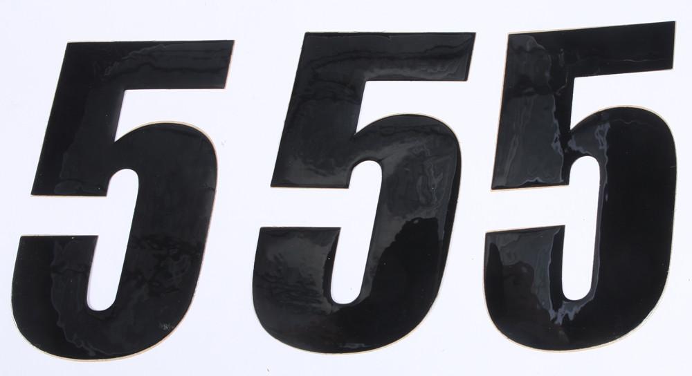 Number 5 Black 6