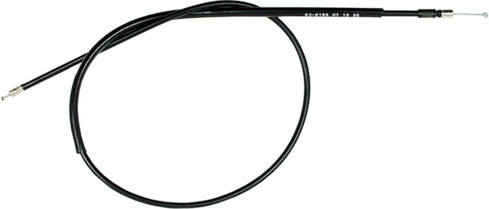 BLACK VINYL CHOKE CABLE