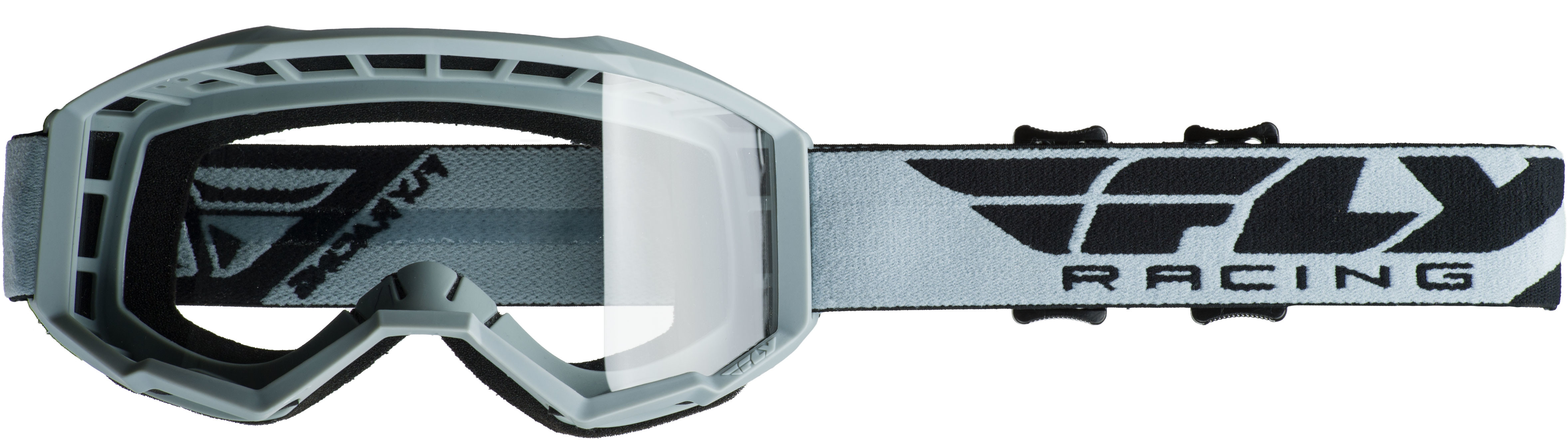 2019 Focus Goggle Grey W/Clear Lens