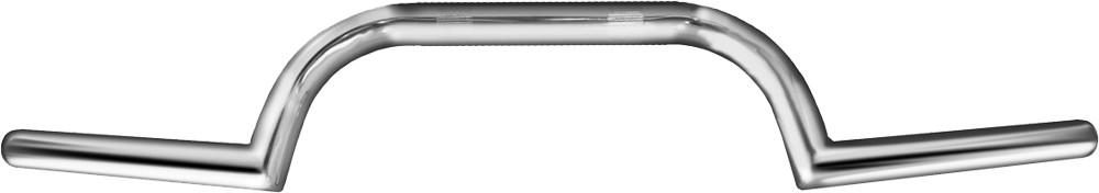 7//8in Gloss Black Emgo 23-12539 Clubman Universal Handlebar