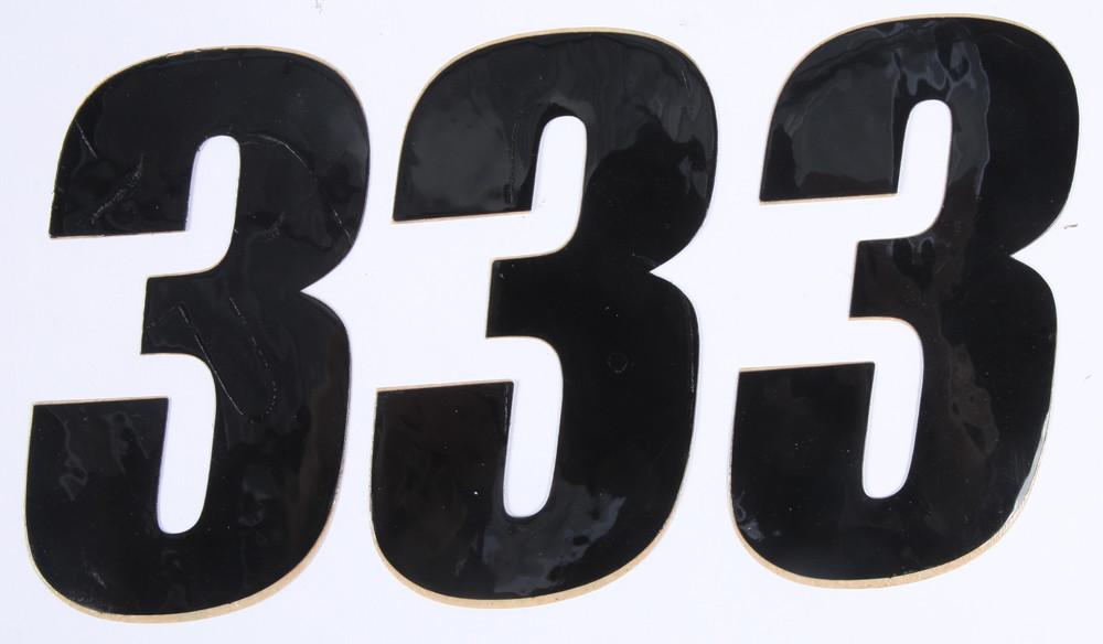 Number 3 Black 4
