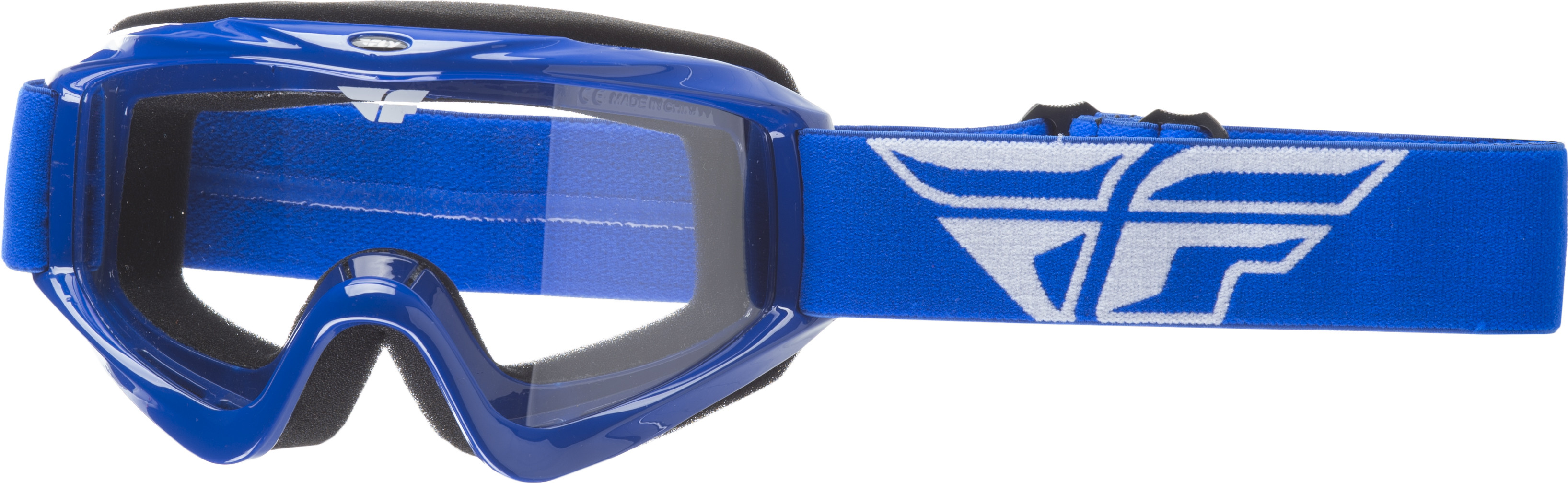 Focus Goggle Blue W/Clear Lens
