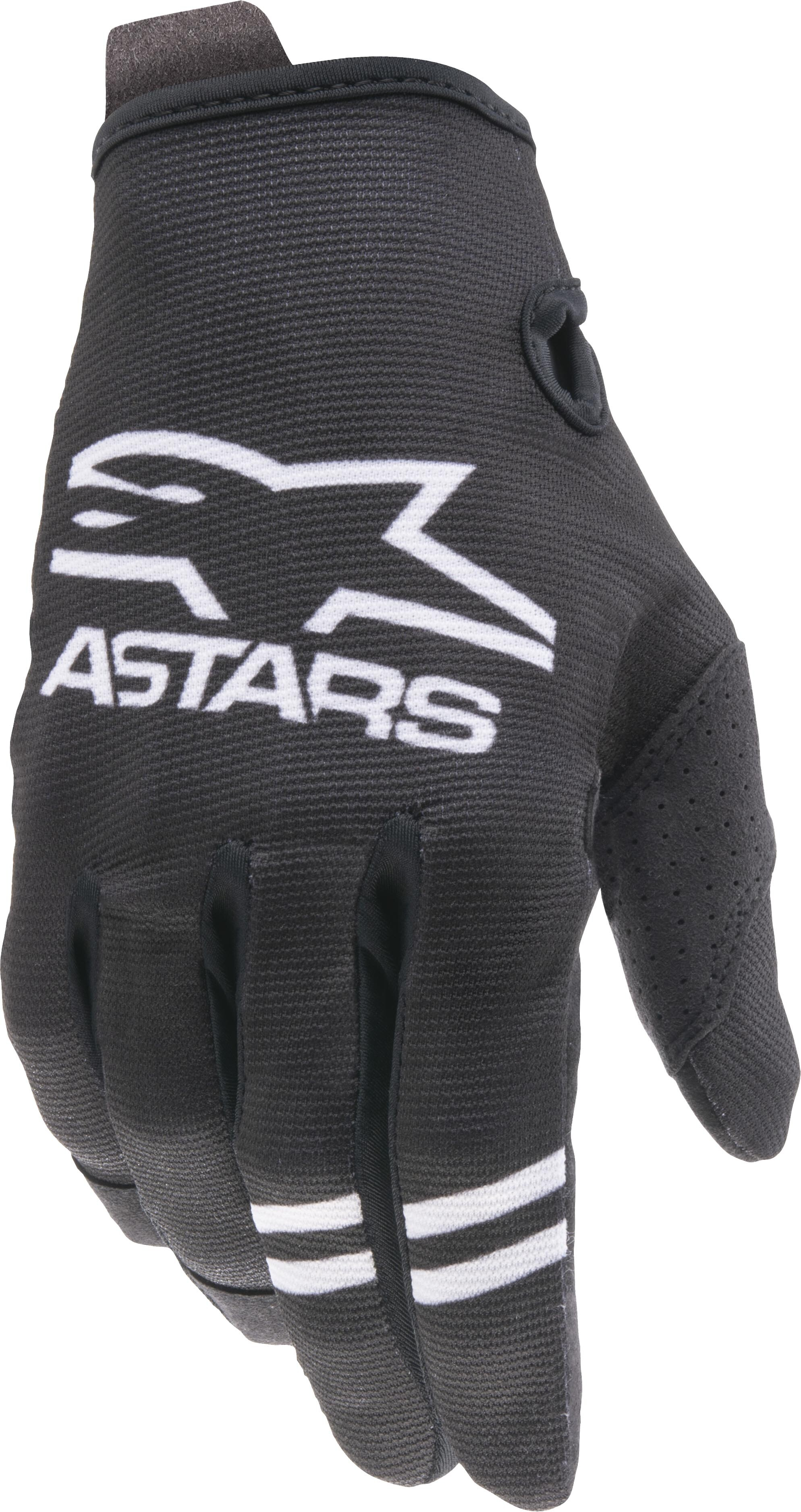 YOUTH RADAR GLOVES BLACK/WHITE SM