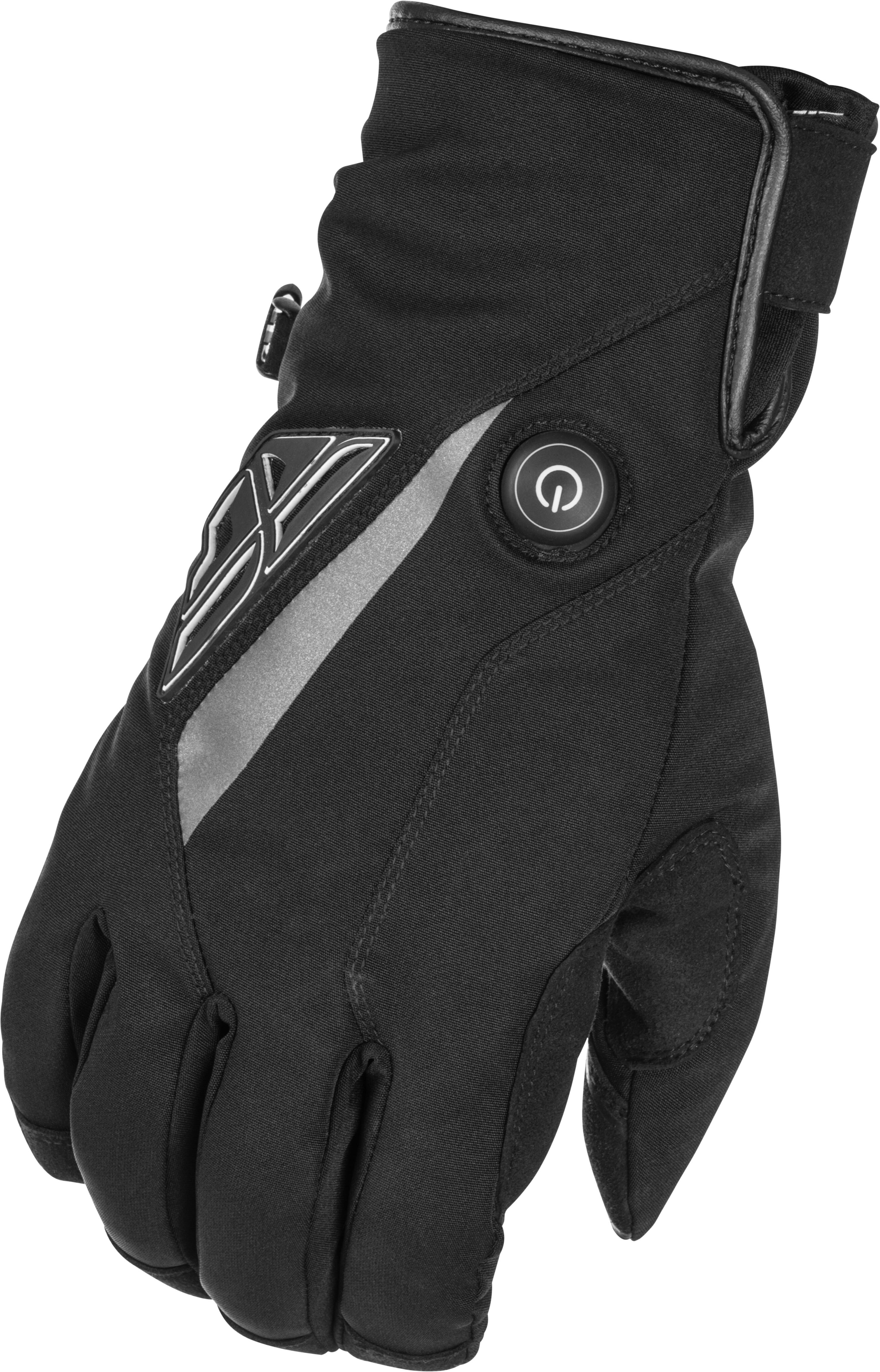 TITLE HEATED GLOVES BLACK 2XS