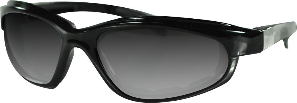 ARIZONA SUNGLASS BLACK W/YELLOW LENS