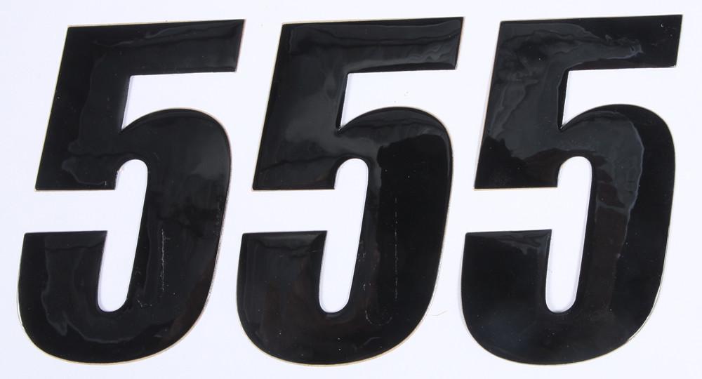 Number 5 Black 4