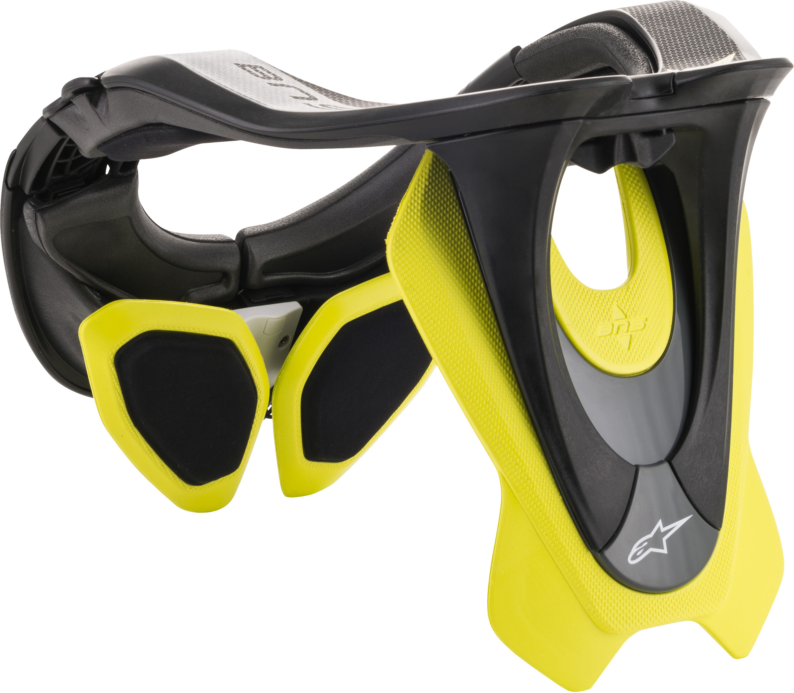 Alpinestars Bionic Neck Support Black//Yellow XS-Md 6500019-155-XS//M