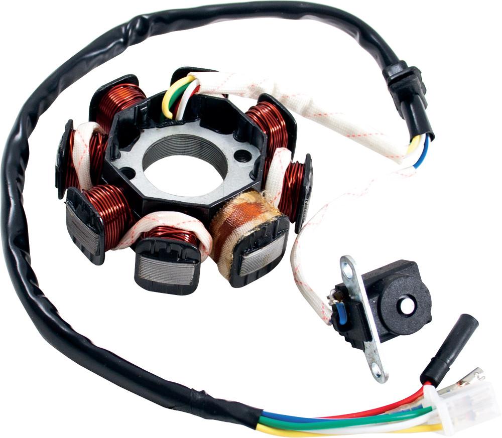 125/150cc 8-Coil Magneto/Stato GY6 4-Stroke