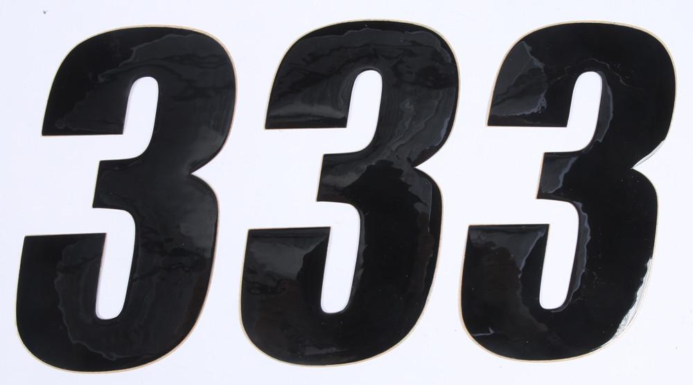 Number 3 Black 6