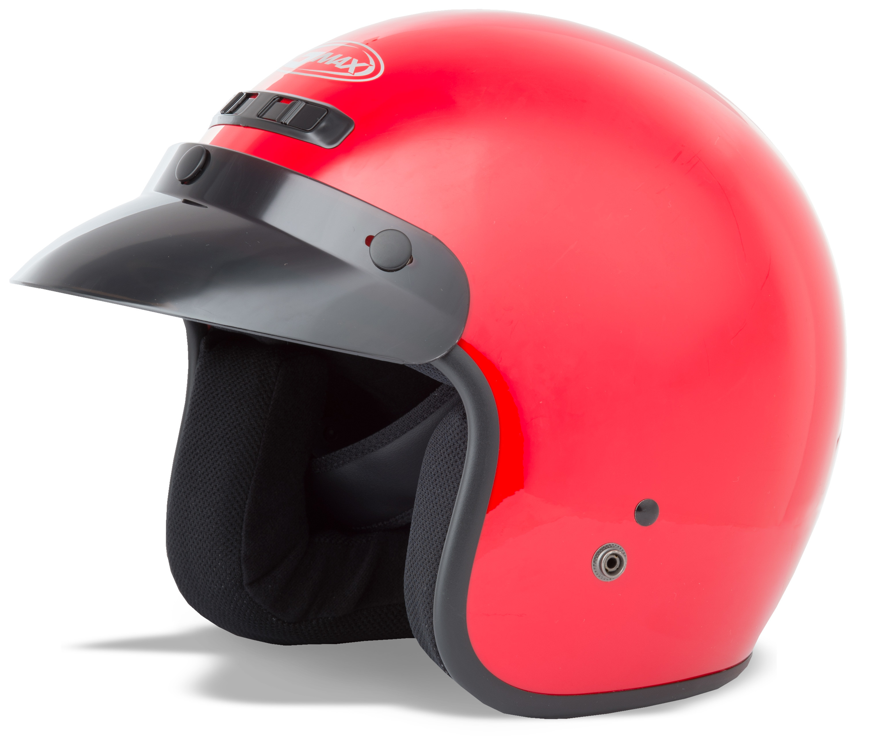 YOUTH GM-2 Open-Face Helmet,  RED YS-YM 72-5352YS