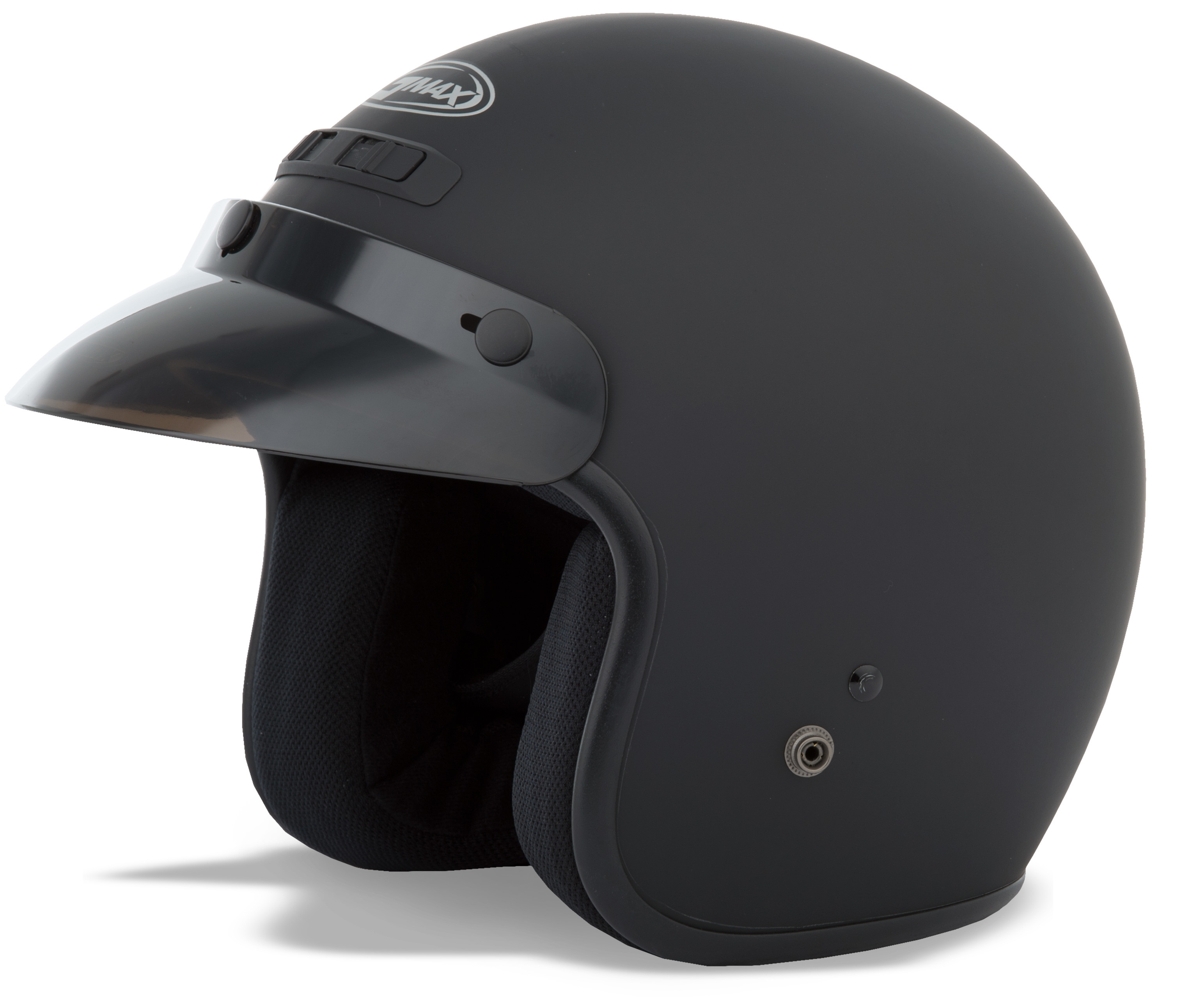 YOUTH GM-2 Open-Face Helmet,  Matte BLACK 72-5359YL