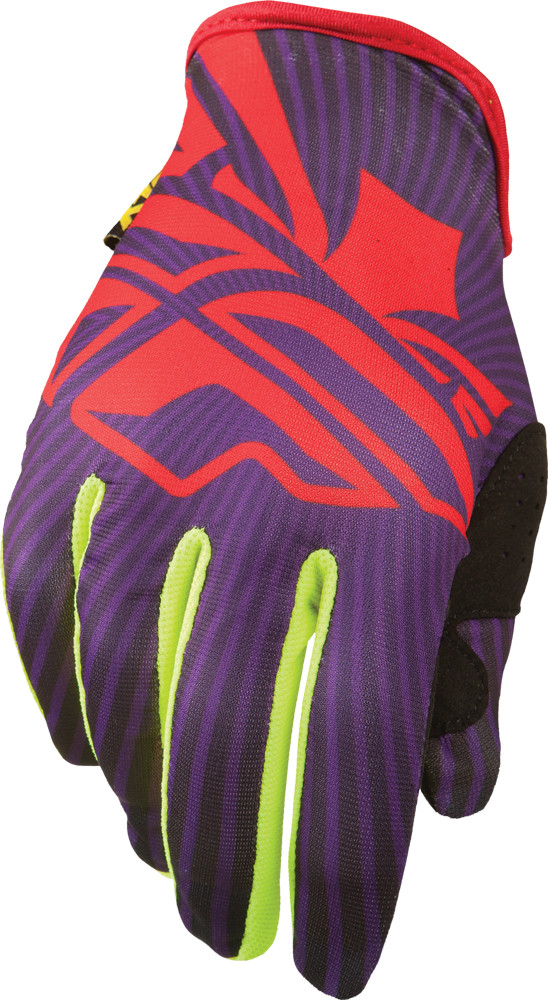 LITE GLOVES PURPLE/RED/YELLOW SZ 12 (366-01812)