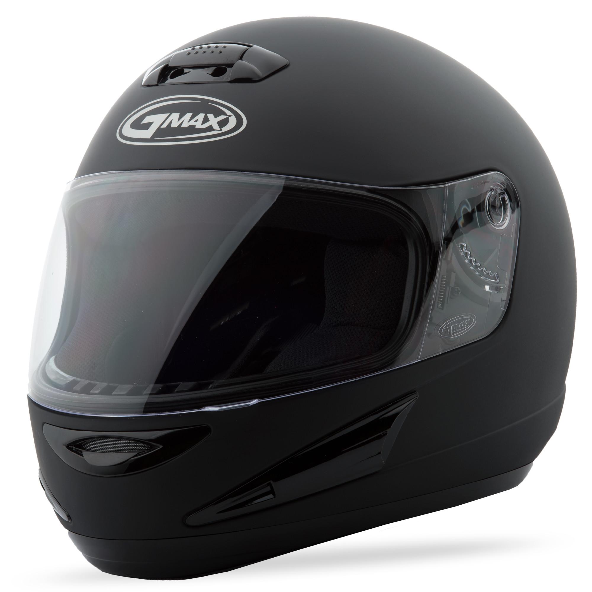 GM-38 FULL-FACE Matte Black,  2XS  72-5738XXS