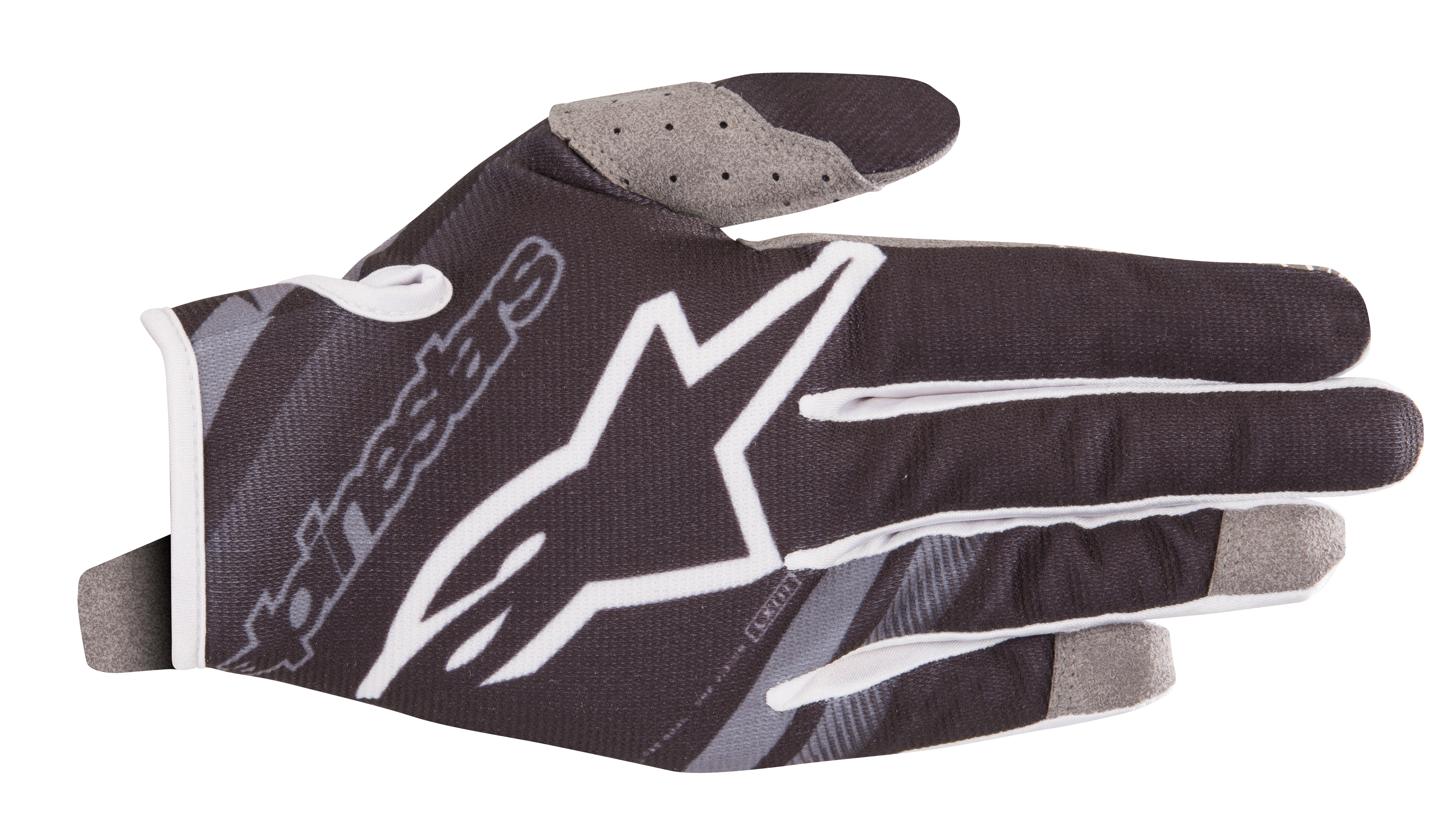 YOUTH RADAR GLOVES BLACK/GREY Y3XS